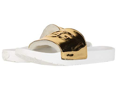 UGG Damen - Pantoletten ROYALE GRAPHIC METALLIC - gold, Größe:38 EU