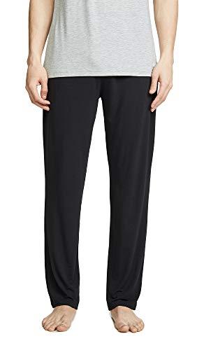 Calvin Klein Herren Ultra Soft Modal Lounge Pant Pyjamahose, schwarz, Groß