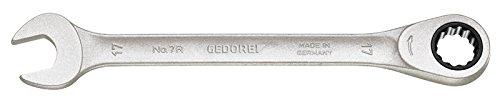 Gedore 7R-27 2297213 Clé à cliquet combiné 27 mm, Argent