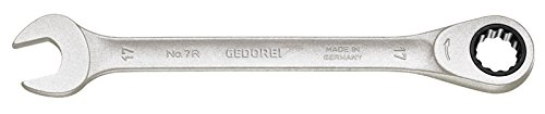 GEDORE 7 R 24 Maulschlüssel mit Ringratsche UD-Profil 24 mm