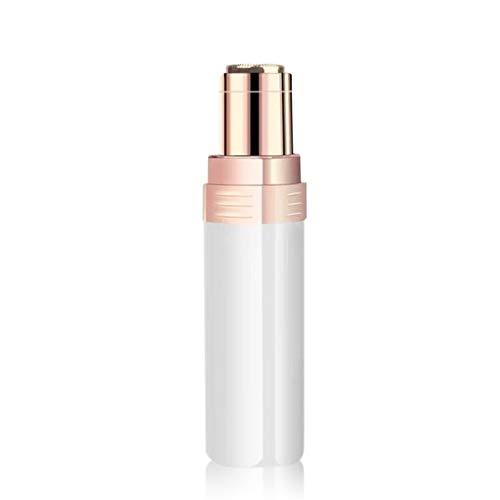 Depiladora eléctrica Depiladora de Cejas sin Dolor Recortadora de Cejas para Labios faciales Mejillas Mujeres portátiles Depilación Facial, con Cepillo de Limpieza