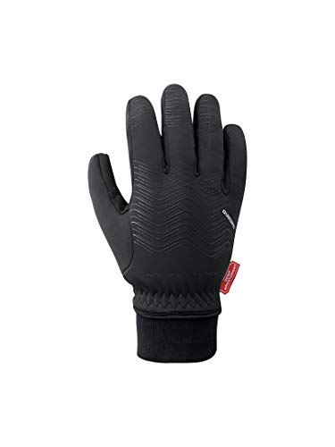 SHIMANO Handschuhe SH Windstopper, Unisex für Erwachsene XL schwarz/T