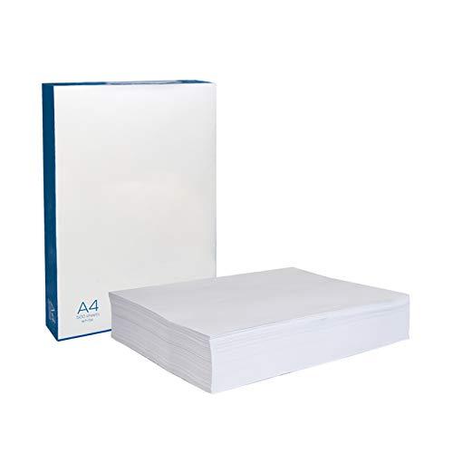 Palucart Carta A4 per fotocopie e stampe a colori e bianco fogli A4 carta bianca (1000)