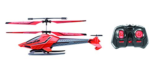 Sky Rover Outlaw RC Helicopter Indoor Remote Control Vehicle with Gyro & Lights, Red