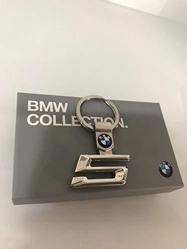 BMW Original Hauptkollektion Stylischer Edelstahl-Schlüsselanhänger 5er Serie 80272454651