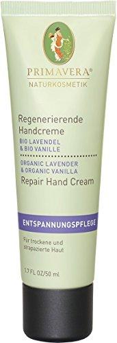 PRIMAVERA Regenerierende Handcreme Lavendel Vanille 6-er PACK 6x50ml
