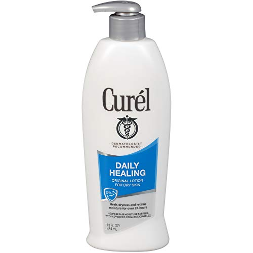 Curel Continuous Comfort 24-Hour Daily Moisturizing Lotion for Dry Skin, Original Formula, 13-Ounce Dispensers by Curel