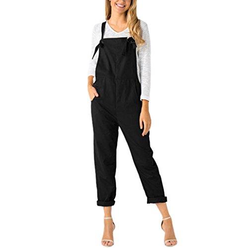 ESAILQ Damen festlich in für den winterkleid knielange Kleider schöne kurz für den Knielang weiße lang weiß weißes langes Strandkleider schwarzes (L,Schwarz)