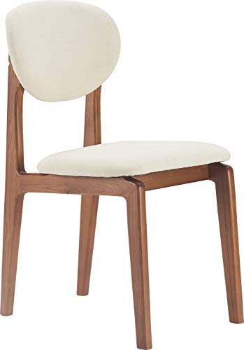 Elle Decor Coralie Dining Chair, Buttercream