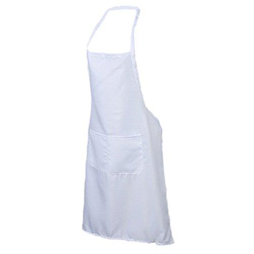 Tablier de cuisine Amybria pour chefs cuisiniers, avec poche avant - tablier de boucher pour pâtisseries, loisirs
