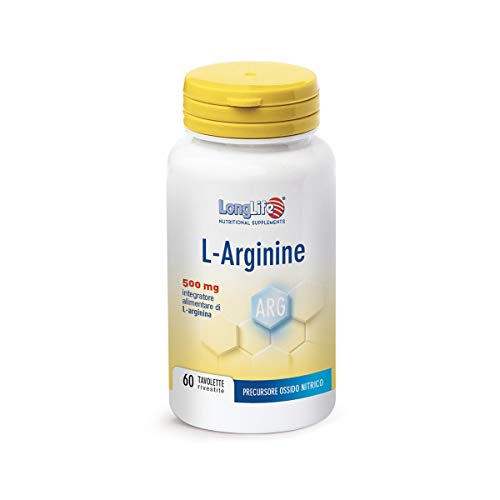 Longlife L-Arginine 500Mg - 90 Gr