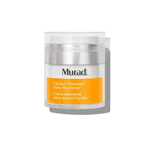 Murad City Skin Overnight Detox Moisturizer - Vitamin C Night Cream - Overnight Moisturizer for Face Detoxifies and Brightens, 1.7 Fl Oz