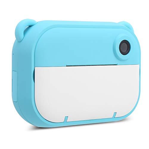 Zwindy Cámara Digital para niños, cámara de Video, grabación en Alta definición 1080P fácil de Usar Viajes para niñas Inicio Niños(Blue)