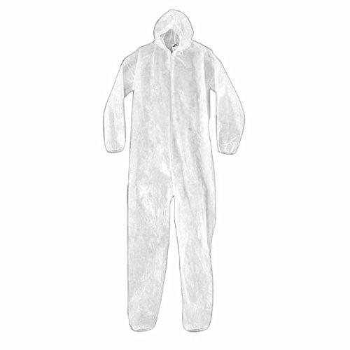 Porter en polyéthylène de protection anti-poussière Combinaison – Taille L