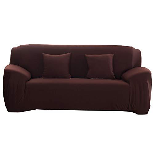 Oumefar Sala de Estar del Dormitorio de la Cubierta del sofá a Prueba de Polvo de la Alta Elasticidad(Four Persons 235-300cm)