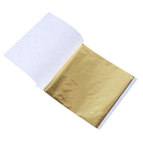N / C 100 blätter kupferfolie Blatt Papier Essen Kuchen dekor vergoldung DIY Handwerk Gold Farbe kreativ und nützlichdurable