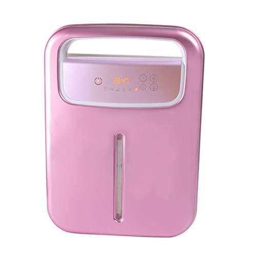 QHAI Wäschetrockner Electric, Home Schnell-Trocknungsanlage Kleine Baby-Kleidung Trocknen Neben für Mite Entfernung, Heizung und Trocknen von Kleidung,Rosa