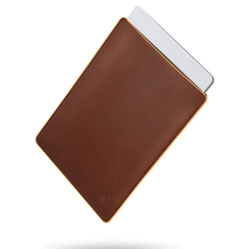 CAISON Genuine Leather Laptop Sleeve Case Special Design for 2019 New 13.5 inch Microsoft Surface Laptop 3 / Microsoft Surface Laptop 2