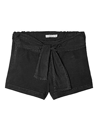 NAME IT Girl Shorts Bindegürtel 122Black