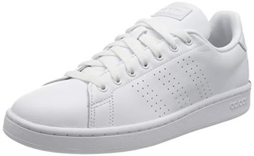 adidas Advantage, Zapatillas de Tenis Hombre, FTWBLA/FTWBLA/NEGBÁS, 41 1/3 EU