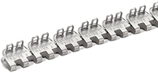 Apache 25072100 18 Alligator Rivet Ready Set Staple Lacing with Nylon Coated Pin 4 Splices