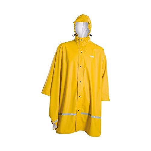 Owney Regen-Poncho- Outdoor- Jacke Outdoorbekleidung Unisex Outdoor Jacken Unisex yellow- Regeenjacke S bis L