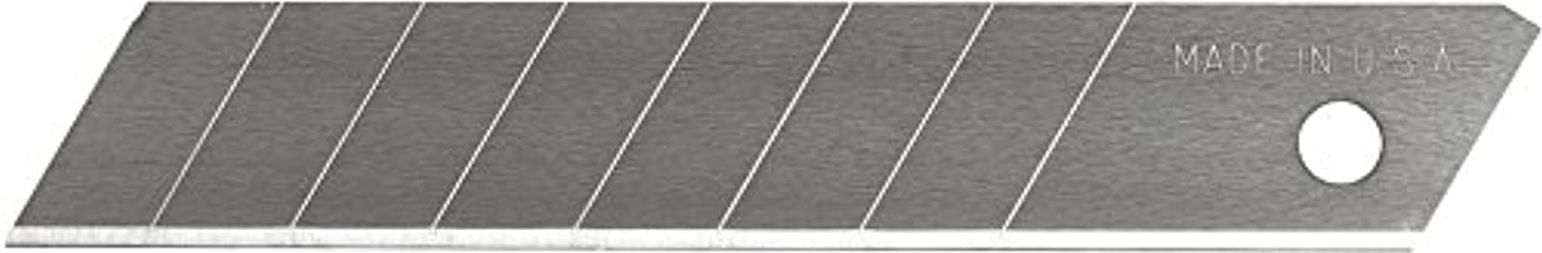 Excel Blades 8 Point Snap Off Utility Blade, 5 Pack, American Made Heavy Duty Replacement Blades