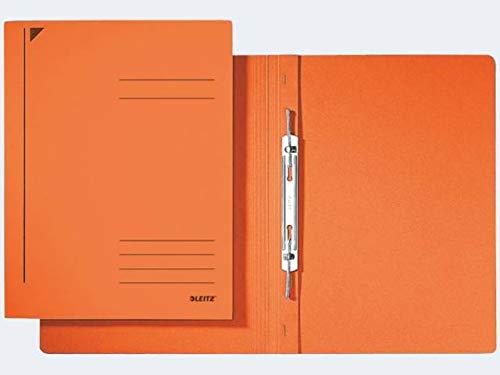 Esselte Leitz Spiralhefter, A4, kfm. Heftung, Pendarec-Karton, orange
