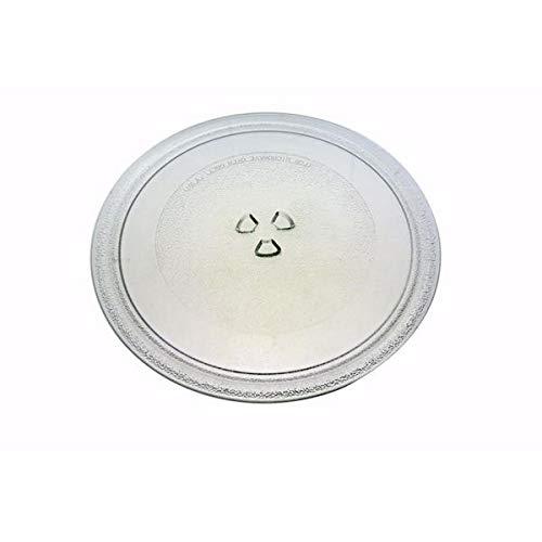 Drehteller aus Glas, Durchmesser 284 mh6330ns mg553t mh6380sl ms2323l ms3330sl ms4380nb ms2135 mg557el mg557ej mg555t md2642 ms252t ms2136fs mb4125f mb4135f ms4330w für Mikrowelle lg/goldstar mg557ej