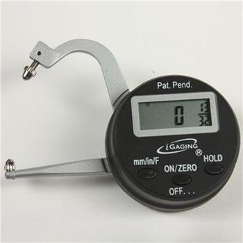 iGaging Digital Electronic THICKNESS GAGE 0-1'/25mm MICROMETER CALIPER Inch/mm/Fractions