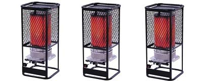 Purchase Heatstar By Enerco F170850 Radiant Natural Gas Heater HS125NG Salamander, 125K (3-(Pack))