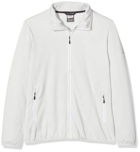 McKINLEY Fleece-Veste Roto II, White/Grey Light/Mel, 44 pour Femmes