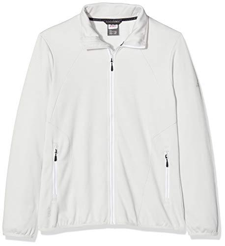 McKINLEY Damen Fleece- Roto II Jacke, White/Grey Light/Mel, 40