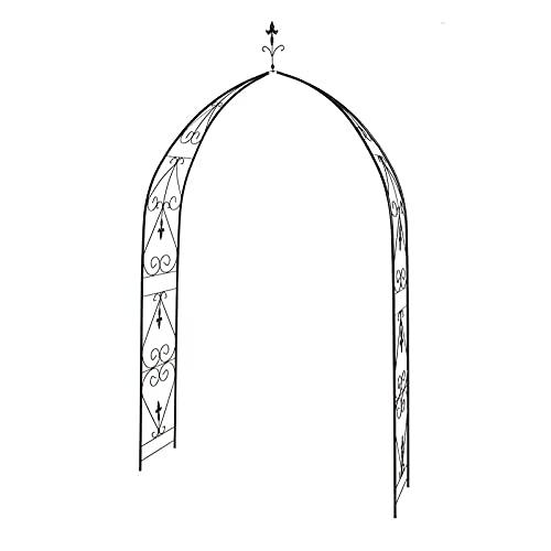 Wgwioo Arco De Metal, Soporte De Planta De Arco, Arco De Pérgola De Cenador De Jardín, para Varias Plantas Trepadoras De Interior/Exterior Excelente