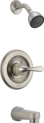 Delta Faucet T13420-SSPDSOS bathtub-and-showerhead-faucet-systems, Pack of 1, Stainless