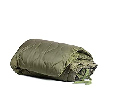 Farm Blue Tactical Camping Military Blanket – Survival Ponch Liner – Olive Drab