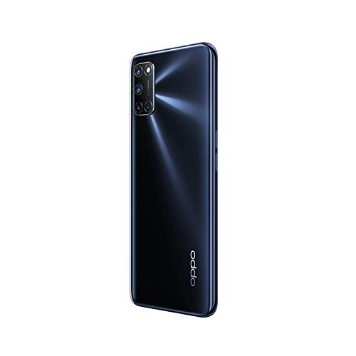 OPPO A52 Smartphone , Display 6.5'' LCD, 4, Fotocamere,64GB Espandibili, RAM 4GB, Batteria 5000mAh, Dual Sim, 2020 [Versione italiana], Twilight black