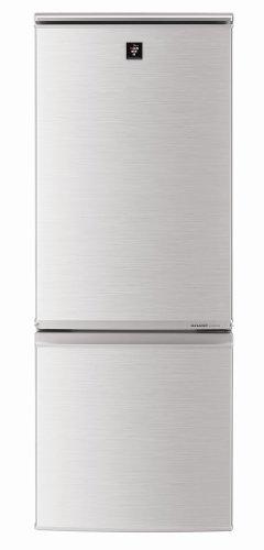 SHARP プラズマクラスター搭載どっちもつけかえドア採用 167L冷蔵庫 シルバー系