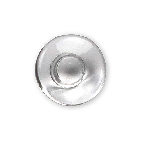 50 x Occhiali/Occhiali Naselli in Silicone Rotondi 9mm Scorri dentro