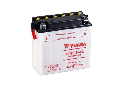 YUASA BATERIA 12N5.5-4A abierto - sin ácido