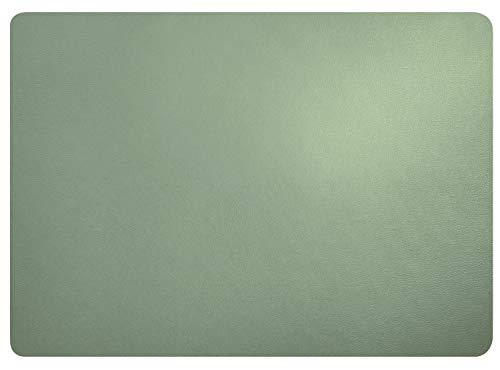 ASA Leder Tischset, Mint 46 x 33 cm, Lederoptik (6 Stück)