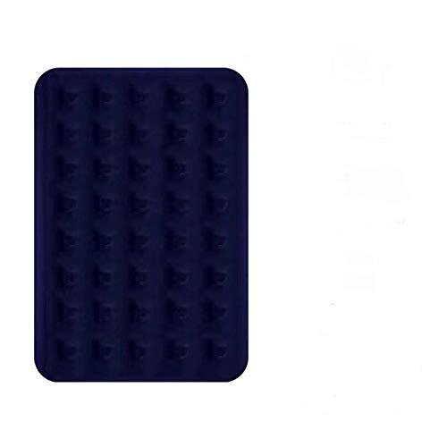 N-B Cama de aire plegable portátil colchón de aire que engrosa, interior y exterior, coche, playa, camping, colchoneta doble perezoso
