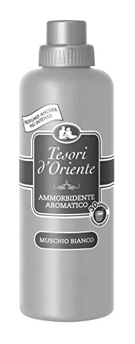 3X Tesori D 'oriente Muschio Bianco Ammorbidente aromatici 750ML MUSCHIO BIANCO