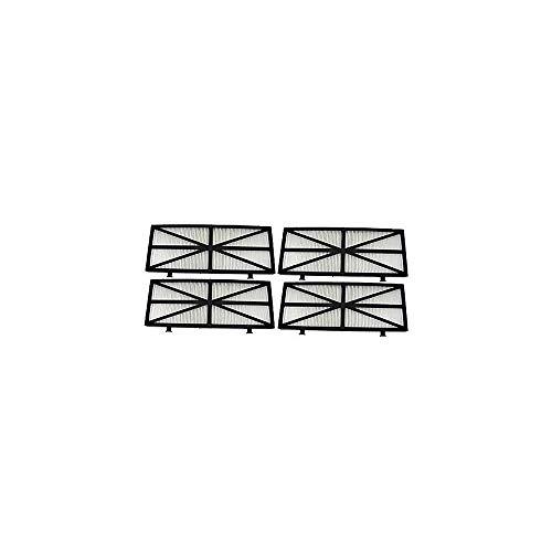 DOLPHIN - 9991432-assy - Kit de 4 Cartouches 50 microns pour Robot suprˆme m4 et m5