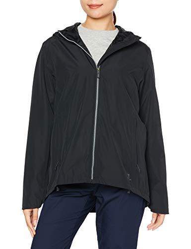 Salomon Regenjacke für Damen, COMET WP JKT M, Polyester, schwarz, Größe: L, LC1334100