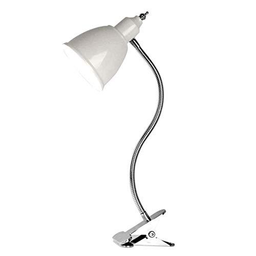 WZHZJ Libro de la lámpara LED de Recorte Protección de los Ojos de Noche lámpara de Mesa lámpara de luz Suave Clip lámpara de Mesa (Color : A)