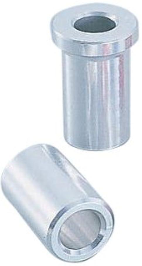 キタコ(KITACO) アルミアクスルカラー NSR50/NSF100/エイプ50タイプD等 シルバー 093-1064000