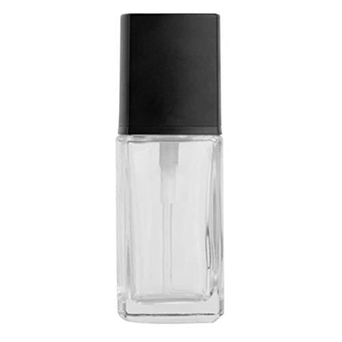 PT-KMKMING 1 ud. Vaso de Leche de 30 ml, Frasco vacío Recargable para loción, Crema Corporal líquida, Frasco contenedor de Base cosmética con Bomba de presión