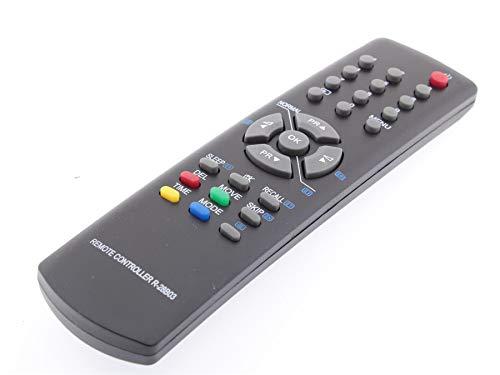 Frompt2y Mando a Distancia de reemplazo para Televisores TV Daewoo R28B03 [Sin Configuración o Programación - 2 x AA Pilas Incluidas]
