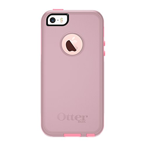 OtterBox COMMUTER SERIES for iPhone SE (1st gen - 2016) and iPhone 5/5s - Frustration Free Packaging - BUBBLEGUM WAY (BUBBLEGUM PINK/SEASHELL PINK)